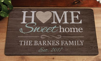 One, Two, or Three Personalized Doormats from <strong>Personal</strong> Creations (Up to 60% Off)