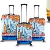Topline Fashion Hardside Luggage Set (3-Piece)