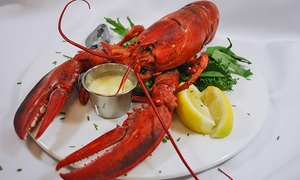 Amrheins: Steaks, Seafood, and Other American Cuisine at Amrheins (Up to 50% Off). Two Options Available.