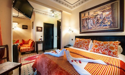 Marrakech: 1 à 7 nuits avec petits déjeuners et dîner en option à l'hôtel Le Caspien pour 2 pers et 1 enfant -10ans