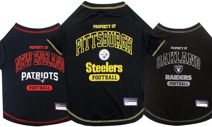 NFL AFC Pet T-Shirts. Teams M-T Available.