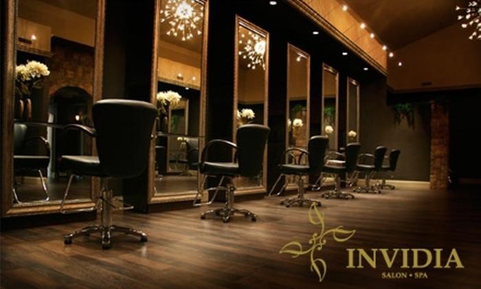 Invidia Salon & Spa - Sudbury: Spa and Salon Services at Invidia Salon & Spa. Choose from Three Options.