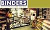Binders Art Supplies and Frames - Buckhead Forest: $25 for $50 Worth of Art Supplies, Classes, and Framing Services at BINDERS