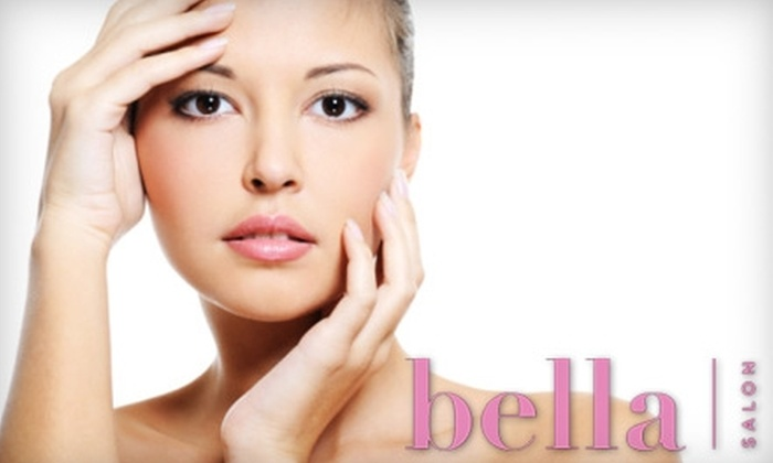 Bella Salon Austin - Austin: $105 for a Priori Facial with Peel or Ultrasonic Dermabrasion, Collagen Eye Treatment, Brow Shape, and Lash Tint from Carrie Berry at bella Salon ($210 Value)