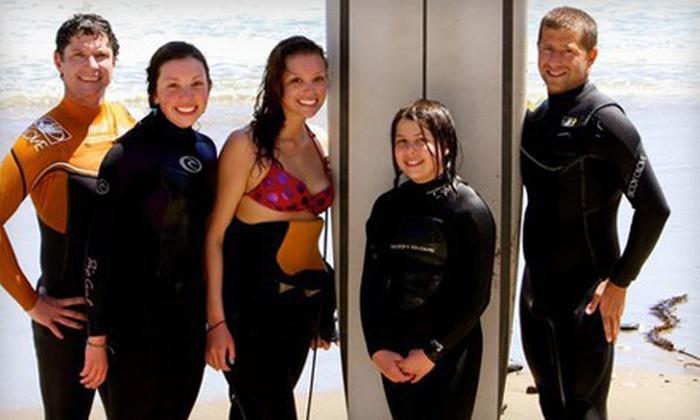 Surf School Santa Cruz - Eastside: Group Surf Lesson for One or Two from Surf School Santa Cruz (Up to 54% Off)