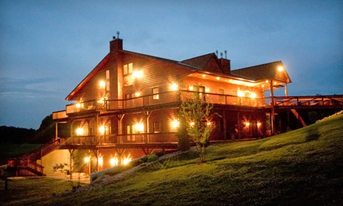 Harpole's Heartland Lodge - Nebo: Two-Night Resort Getaway for Two at Harpole's Heartland Lodge in Nebo (Up to 56% Off). Four Options Available.