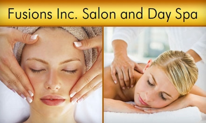 Fusions Inc.  - Rocky River: Microdermabrasion, Facials, and Massages at Fusions Inc. Salon and Day Spa in Fairview Park. Choose from Five Treatment Options.