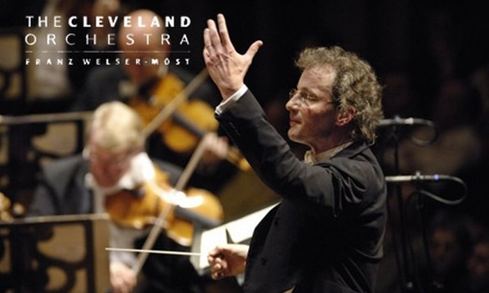 "Cleveland Orchestra - University: $30 for Ticket to Richard Strauss' ""A Hero's Life"" Performed by the Cleveland Orchestra (Up to $92 Value) January 14"