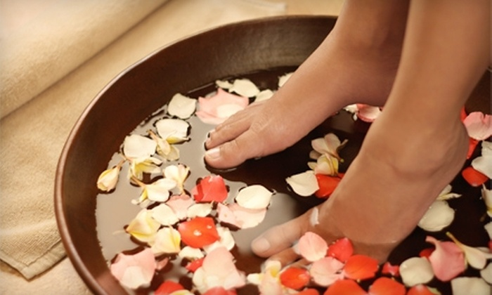 The I Spa - SoMa: $65 for an Essential Pedicure and an Express Massage at The I Spa ($140 Value)