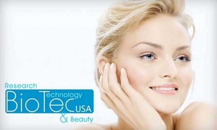 BioTec USA - Washington DC: $115 for a Facial at BioTec USA ($245 Value)