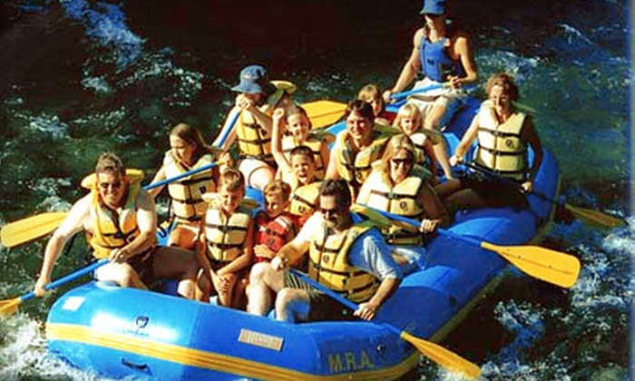McKenzie River Adventures - McKenzie River: $80 for a Three-Hour Whitewater Rafting Trip for Two from McKenzie River Adventures ($160 Value)