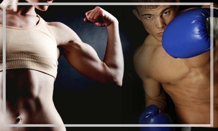 iLoveKickboxing.com - Danbury: $30 for Four Kickboxing Classes, One 40-Minute Personal-Training Session, and a Pair of Boxing Gloves from iLoveKickboxing.com in Danbury ($105 Value)