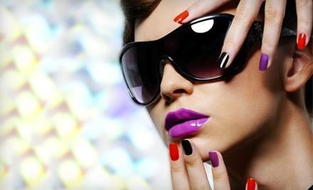 Fashion Diva Nail Salon and Spa: No-Chip Shellac Manicure and Colada Sparkle Pedicure - Fashion Diva Nail Salon and Spa in White Plains