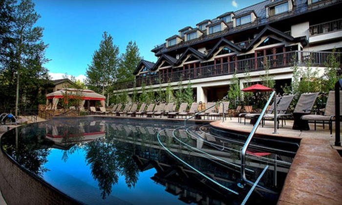 Vail Cascade Resort & Spa - Vail: One-Night Stay for Two and Up to Two Kids in a Standard or Superior Room at Vail Cascade Resort & Spa in Colorado
