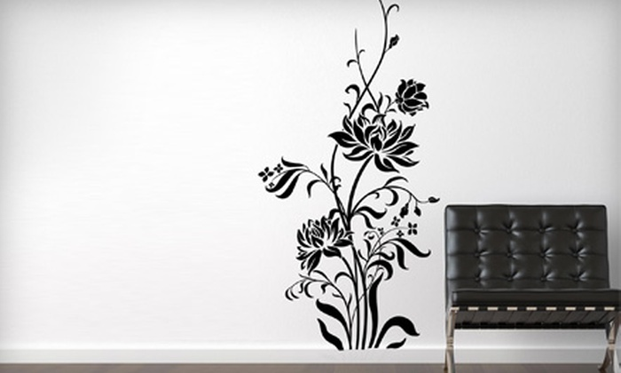 The Vinyl Touch: $25 for $50 Worth of Vinyl Wall Decor from The Vinyl Touch