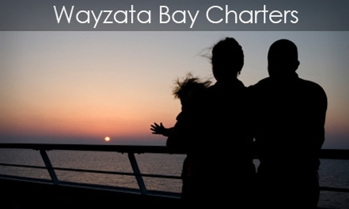 Wayzata Bay Charters - Excelsior: Tickets to Lake Minnetonka Boat Tour from Wayzata Bay Charters. Choose Adult or Child Ticket (Up to $19.95 Value)