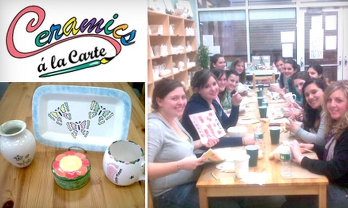 Ceramics a la Carte - Canton: $15 for $30 Worth of Paint-Your-Own Pottery from Ceramics a la Carte