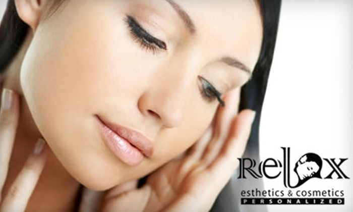 Relax Esthetics & Cosmetics - Westdale South: $49 For a Makeup Consultation and Application at Relax Esthetics & Cosmetics ($100 Value)