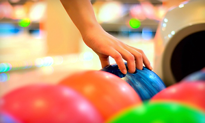 Strike Entertainment - Jackson: $45 for a Bowling Outing for Four at Strike Entertainment (Up to $122.96 Value)