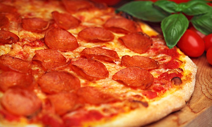 Uncle Carmines University - Wall: 16-Inch Pizza and Boneless-Wing Meal or Catering from Uncle Carmines University in Wall (Up to 60% Off)
