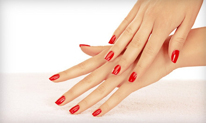 Ferocious Nails - Central City: Gel Polish, Gel Nails, or Gel Nails and Toenails with Mini Pedicure at Ferocious Nails (Up to 58% Off)