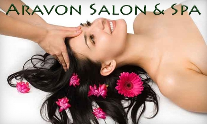 Aravon Salon & Spa - Elm Creek Condominiums: $35 for One-Hour Massage and Herbal Steaming Combination at Aravon Salon & Spa ($70 Value) in Owasso