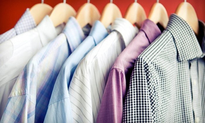 Lugano Green Cleaners - Woodstream Village: $20 Worth of Dry-Cleaning Services