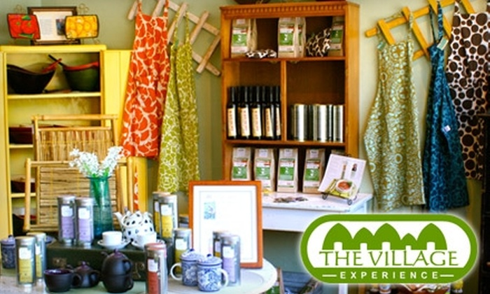 The Village Experience - Warfleigh: $20 for $40 Worth of International Accessories, Home Goods, and Crafts at The Village Experience