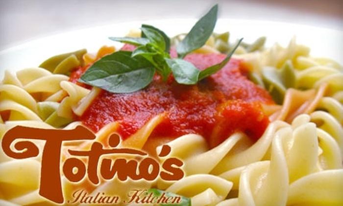Totino's Italian Kitchen - Arden Hills - Shoreview: $10 for $20 Worth of Italian Cuisine at Totino's Italian Kitchen