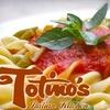 $10 for Fare at Totino's Italian Kitchen