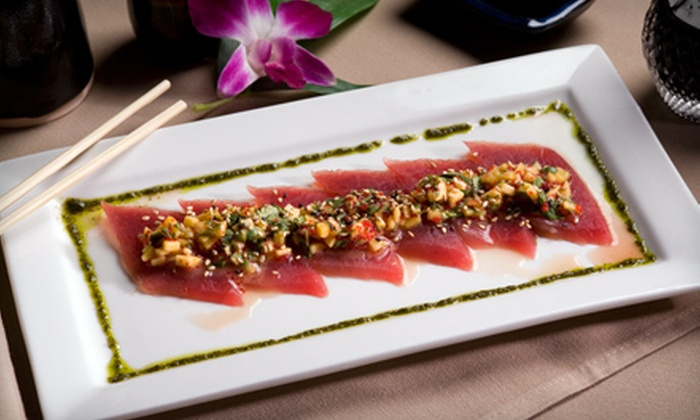 Sakimura - Simsbury Center: $15 for $30 Worth of Japanese Fare and Drinks for Dinner at Sakimura in Simsbury