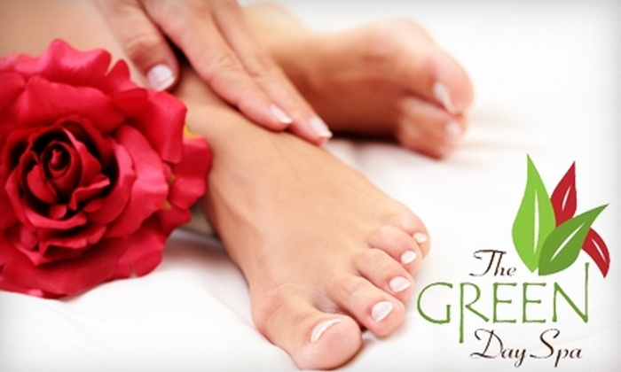 The Green Day Spa - Queen's Park: $59 for a Mani-Pedi and Massage at The Green Day Spa ($127 Value)