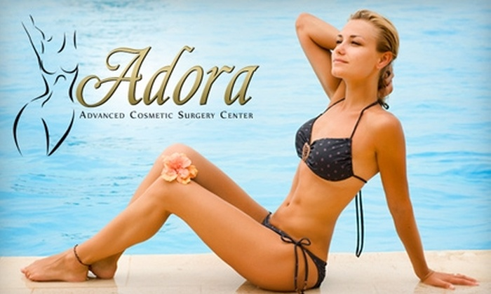 Adora Advanced Cosmetic Surgery Center - Multiple Locations: $99 for Six Laser Hair-Removal Treatments and Teeth-Whitening Treatment at Adora Advanced Cosmetic Surgery Center ($1,149 Value)