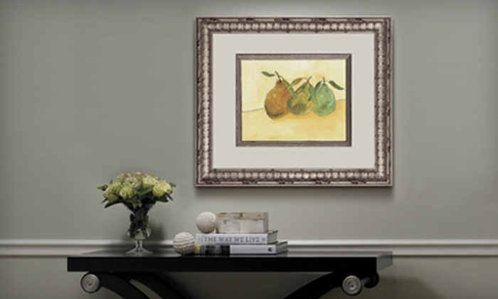 FastFrame - Multiple Locations: $39 for $100 Worth of Custom Framing at FastFrame. Two Locations Available.