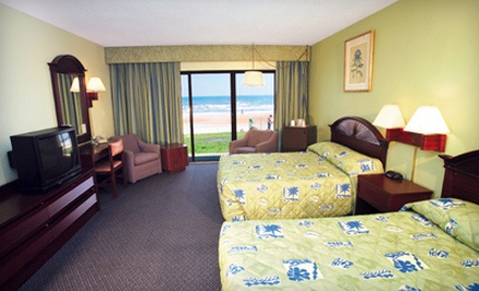 3-Night Stay for Up to Four in Oceanfront Double Room Valid Now - March 31 - Makai Beach Lodge in Ormond Beach