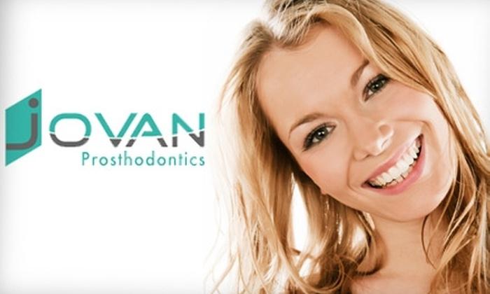 Jovan Prosthodontics - Lakeside: $185 for Zoom! Advanced Teeth Whitening at Jovan Prosthodontics