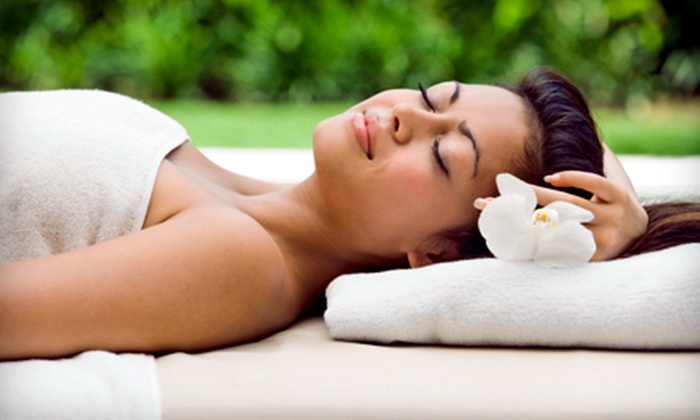 Spa Exo'tique - Selden: $65 for a Spa Package with a Swedish Massage, Mini Facial, Reflexology, and Afternoon Tea at Spa Exo'tique ($135 Value)