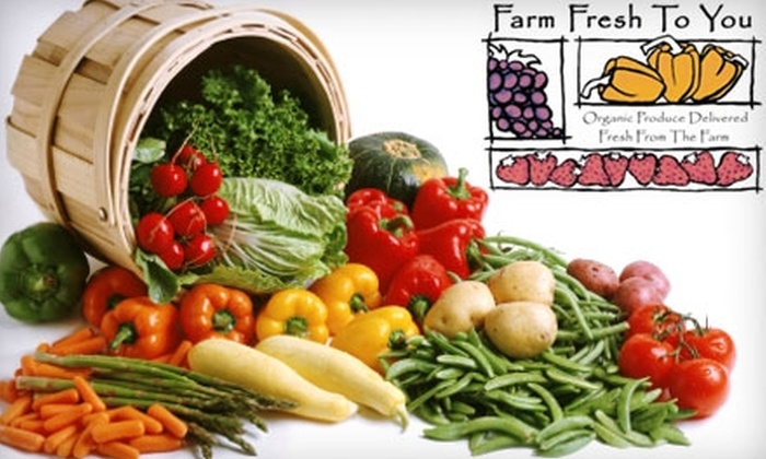Farm Fresh To You: $15 for $31.50 of Organic Produce Delivered from Farm Fresh To You