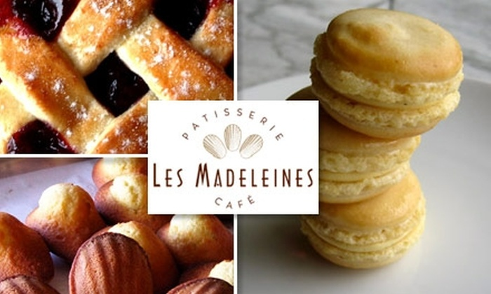 Les Madeleines - Central City: $5 for $10 Worth of Sweet Treats and Café Eats at Les Madeleines