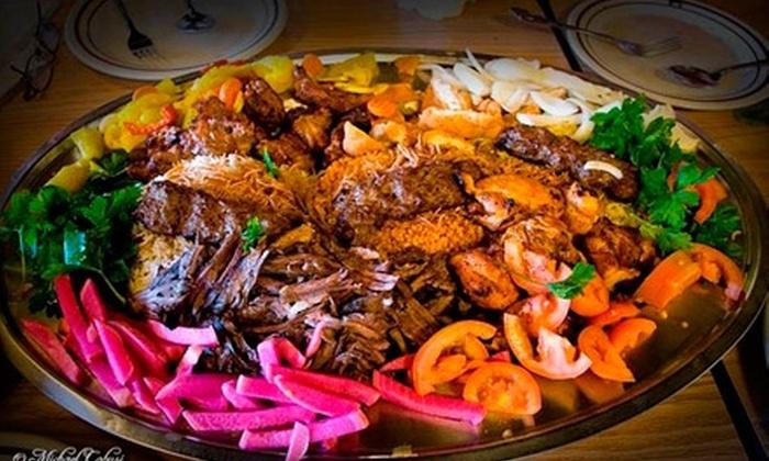 Ali Baba Restaurant - El Cajon: $9 for $18 Worth of Mediterranean Fare and Drinks at Ali Baba Restaurant in El Cajon