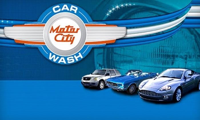 Motor city car wash coupons