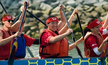 Dragon Zone at Creekside Community Centre: Two-Hour Kayak Rental - Dragon Zone in Vancouver
