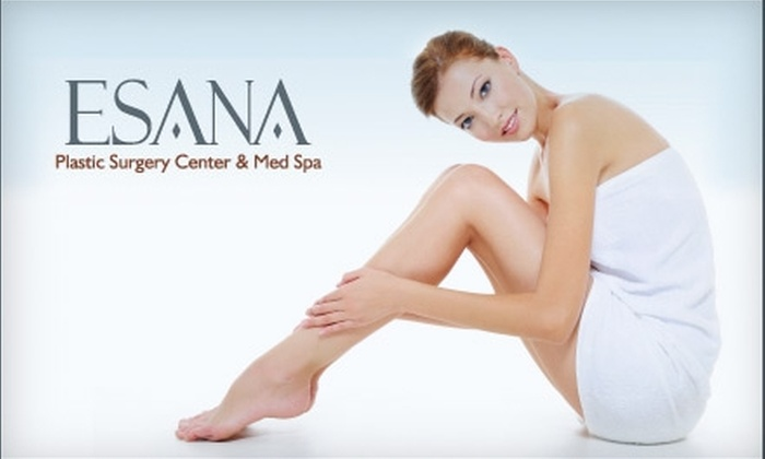 Esana Plastic Surgery Center and MedSpa - Downtown: $150 for Three Laser Hair-Removal Treatments at Esana Plastic Surgery Center and MedSpa (Up to $975 Value)
