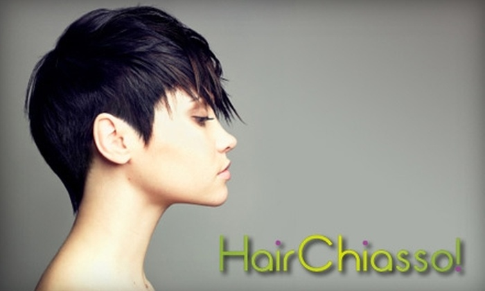 Hair Chiasso - Monclova: $25 for a Haircut, Brow Wax, and Redken Chemistry Treatment at Hair Chiasso ($55 Value)