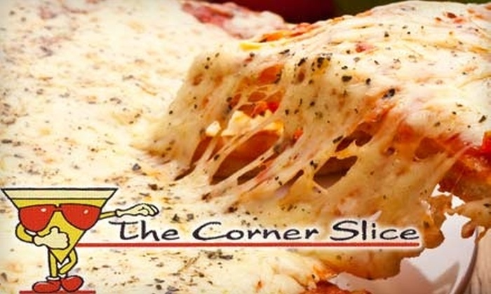 The Corner Slice - Bethesda: $10 for $20 Worth of New York–Style Pizza and Drinks at The Corner Slice