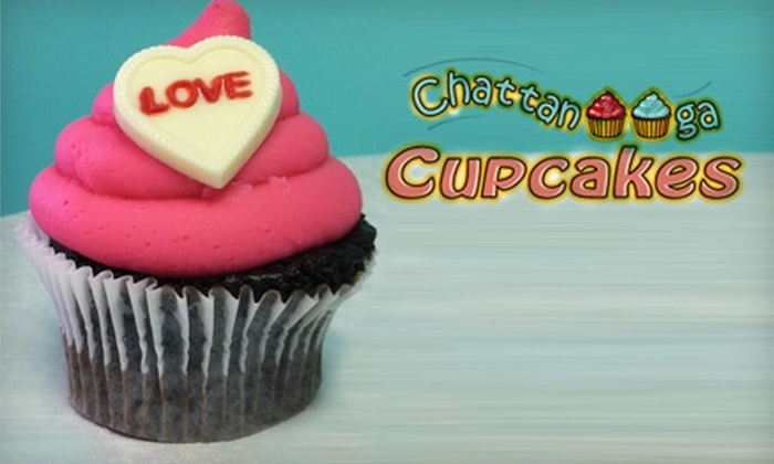 Chattanooga Cupcakes - Downtown Chattanooga: $9 for Half-Dozen Gourmet Cupcakes at Chattanooga Cupcakes ($18 Value)
