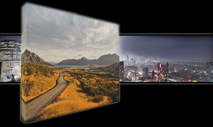 """44 Wide: One or Two 16""""x20"""" or 24""""x36"""" Gallery-Wrapped Canvases Including Shipping from 44 Wide (Up to 66% Off)"""