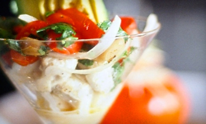 Martini's Chophouse - Daytona Beach: $15 for $30 Worth of Fresh Seafood and Organic Steaks at Martini's Chophouse