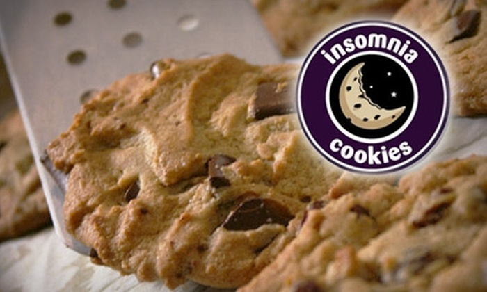Insomnia Cookies - Akron / Canton: $22 for a 24-Cookie Gift Box from Insomnia Cookies ($50 Value)