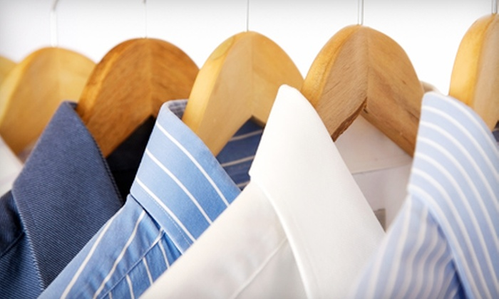 Dry-Cleaning Services at Dry Cleaning Superstore (Up to 53% Off). Five Options Available.
